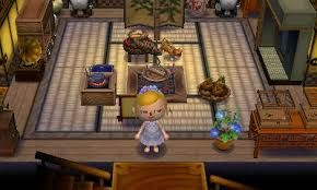 Image Result For Animal Crossing Pocket Camp Campsite Inspiration Japanese Room Animal Crossing Japanese House