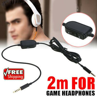Ad Ebay Link 3 5mm Gaming Headset Stereo Replacement Cable Cord For Astro A10 A40 A30 A50 Headset Gaming Headset Stereo