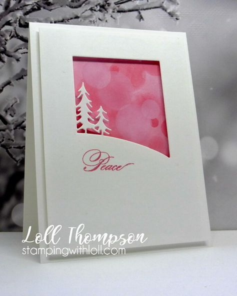 Stamping with Loll: Pink Christmas