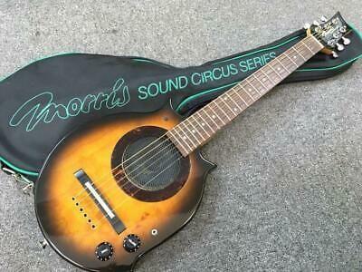 Morris Sound Circus Maurice Guitar Built In Amplifier In 2020 Guitar Guitar Building Acoustic