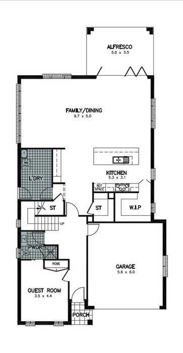 Lydden 13 5 4 Bedroom Guest Allworth Homes House Seek Home House House Design