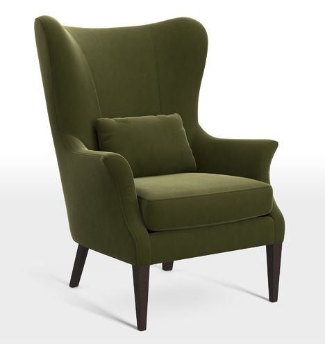 clinton modern wingback chair | products | pinterest | wingback