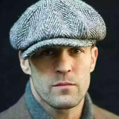 Tweed Gatsby Newsboy Cap Men Ivy Hat Wool Golf Driving Flat Cabbie s m l xl xxl Peaky Blinders, Gatsby Hat, Gatsby Men Outfit, Flat Hats, Baker Boy, Baker Baker, Jason Statham, News Boy Hat, Men Styles