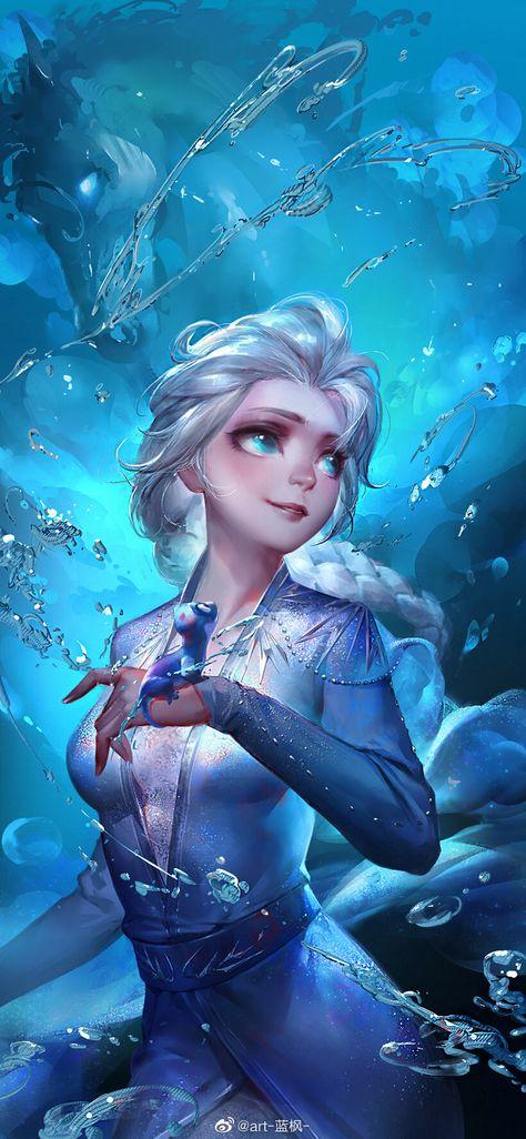 冰雪女王艾莎, li bing