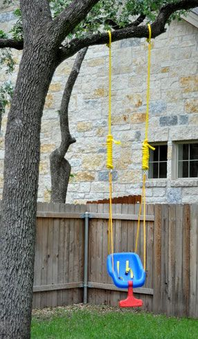 How To Easily Hang A Little Tikes Outdoor Baby Swing In A Backyard Tree With A Removable Portable 2 Strap Swing Ha Baby Swing Outdoor Baby Swings Outdoor Baby