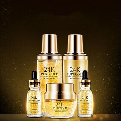 Advertisement Bioaqua 24k Gold Hydrating Skin Care Set Facial Skin Care Set Hydrating Skin Care Skincare Set Facial Skin Care