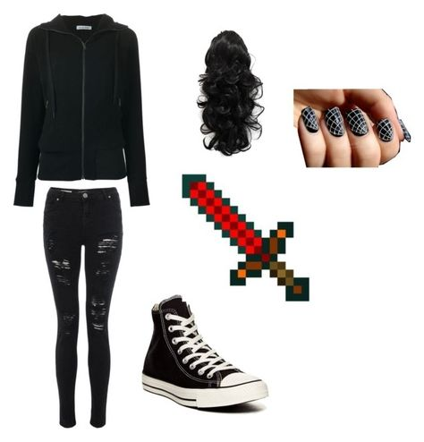 """""""Aaron, MC Diaries"""" by ultimategamer ❤ liked on Polyvore featuring Tomas Maier and Converse"""