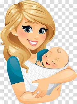 Mother Drawing Cartoon Others Transparent Background Png Clipart Baby Illustration Baby Cartoon Holding Baby