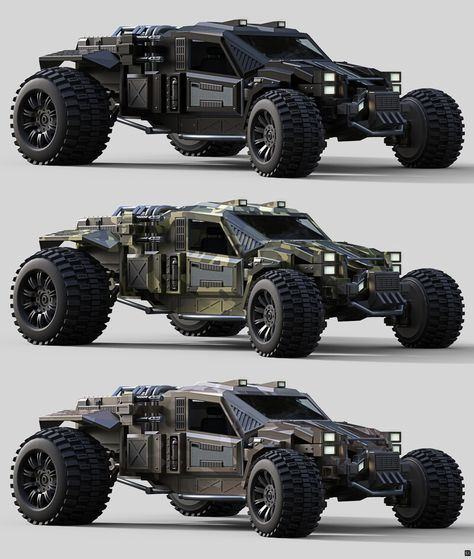 ArtStation - Buggy 05, Garreth Jackson Army Vehicles, Armored Vehicles, Concept Motorcycles, Cars And Motorcycles, Armored Truck, Custom Muscle Cars, Top Luxury Cars, Kart, Buggy