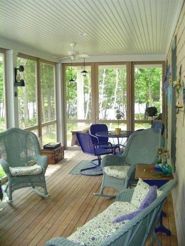 Patio Screened Porch Design Ideas