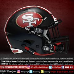 finest selection 90cba aa72e San Francisco 49ers, NFL. Designed in mind to go with color ...