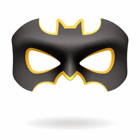 photograph regarding Batgirl Mask Printable identified as Pinterest