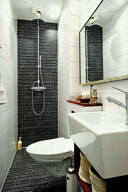 20 Trendy Bath Room Minimalist Small Half Baths Very Small Bathroom Bathroom Design Small Modern Small Bathroom Remodel