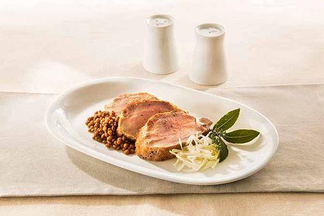 Ricette Secondi Piatti : Filetto di maiale marinato
