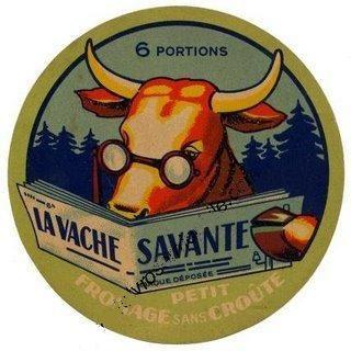 La vache savante - fromage - Peu importe le sexe face aux applications militaires ou industrielles d'une invention!