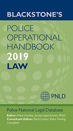 Free Ebook Blackstone S Police Operational Handbook 2019 Law Book Addict Books To Read Business Books