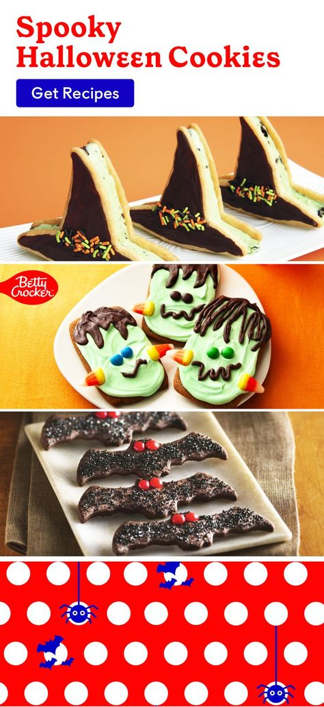 Try our Spooky Halloween Cookies for a festive and delicious treat. Pin today for cookies the kids will love!