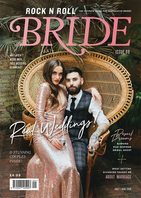 Issue On Pre Sale Today Rock N Roll Bride Wedding Stuff