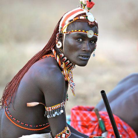 секс с африканкой в племени