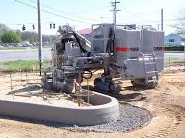 Know Your Curb And Gutter Machine By Heart Concrete Paving Types Of Concrete Concrete Curbing