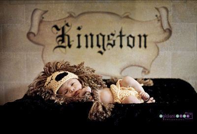 King theme newborn baby boy nursery and photo shoot