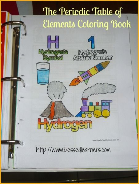 Free template to make your own class periodic table! Science - new modern periodic table elements arranged according