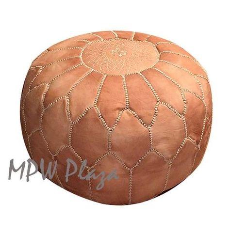 Astonishing Arch Shell Pouf Ottoman Moroccan Pouf Sand Stuffed 14 Short Links Chair Design For Home Short Linksinfo