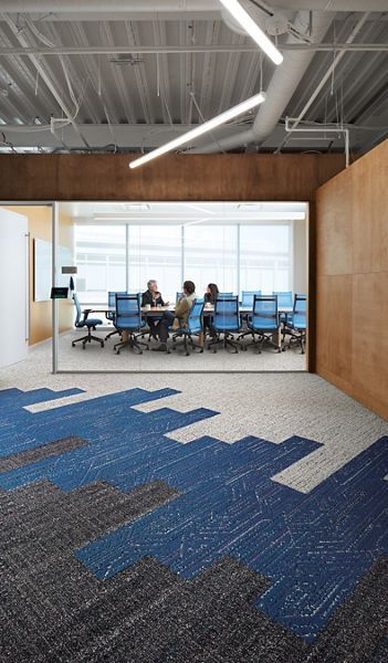 Visual Code Is A Carpet Collection Of Ten Different Patterns
