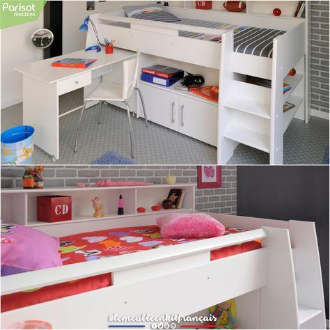 Swan By Parisot Meubles Lemeubleenkitfrancais Home Loft Bed Furniture