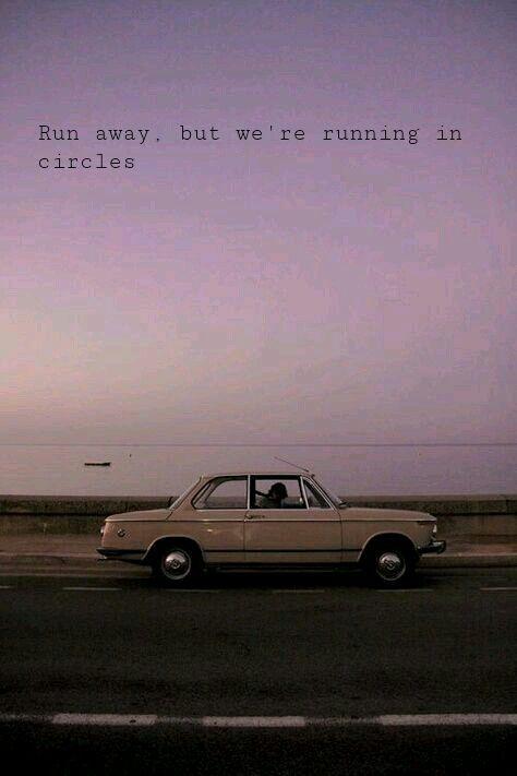 Run Away But We Re Running In Circles Postmalone Circles Songlyrics Aesthetic Wallpapers Lyrics Aesthetic Retro Aesthetic