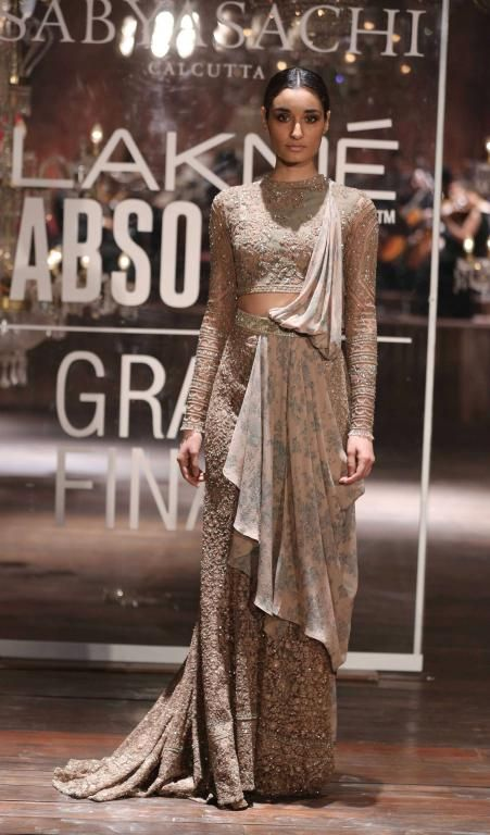 Lakme Absolute Grand Finale By Sabyasachi-at-lakme-fashion-week-10
