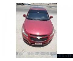 Chevrolet Cruze Lt Model 2011 Cruise Control Sun Roof Leather