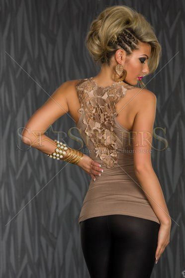 Top Lovely Beyond Brown