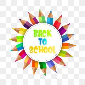 العودة إلى المدرسة شعار القالب مدرسة عودة لافتة Png والمتجهات للتحميل مجانا In 2020 School Banner Back To School Art Science Icons