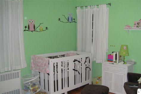 Inspiratie voor een groene #babykamer | Green #kidsroom #nursery