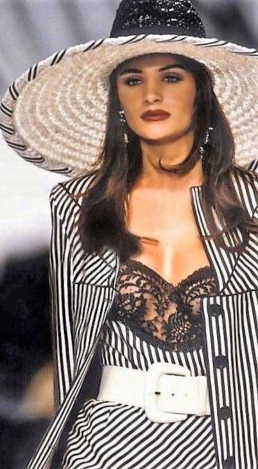 Throwback Thursdays: Helena Christensen for Valentino Spring 1992