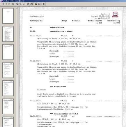 Leistungsverzeichnis Vorlage Word Vorlagen