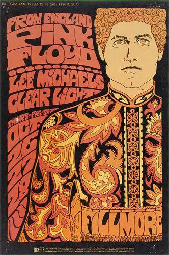 Pink Floyd Fillmore Poster