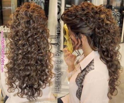 45 Ideas Para Peinados De Novia Para Pelo Largo Ondulado Hasta La Mitad Curly Hair Styles Curly Hair Photos Curls For Long Hair