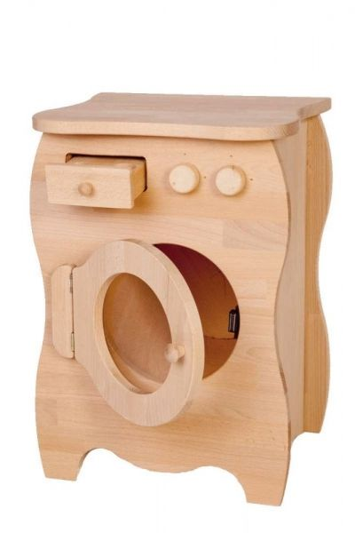 Spielzeug Waschmaschine Holz