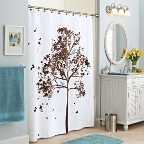Home Shower Curtains Walmart Tree Shower Curtains Christmas