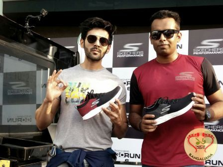Bollywood Star Kartik Aaryan Unveiled Skechers Gorun 6 Running