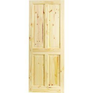 1981mm X 610mm Wickes Co Uk Knotty Pine Doors Pine Interior Doors 4 Panel Internal Doors