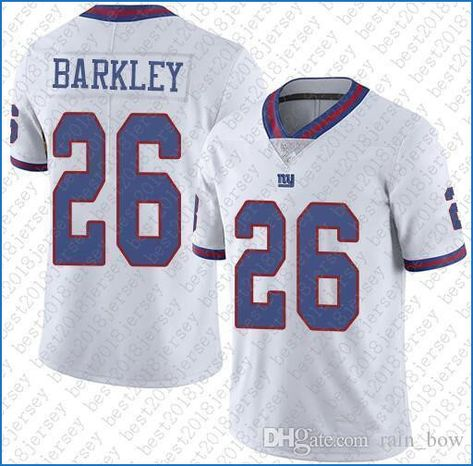 timeless design afda1 65c92 New Ny Giants Color Rush Jersey Saquon Barkley | I am A ...