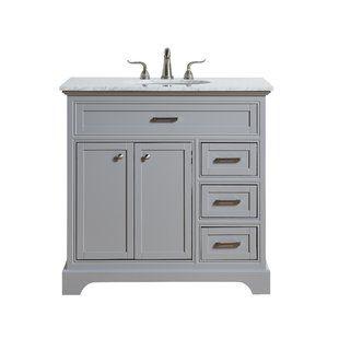 Mauricio French 36 Single Bathroom Vanity Set Joss Main Single Bathroom Vanity Bathroom Vanity Vanity Set