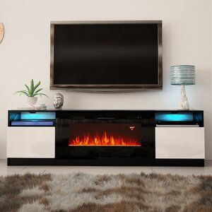 Odis Wall Mounted Electric Fireplace In 2020 Modern Fireplace