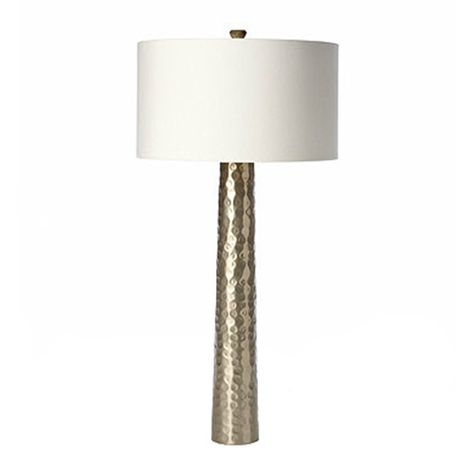 Barbara Cosgrove Hammered Silver Table Lamp $610