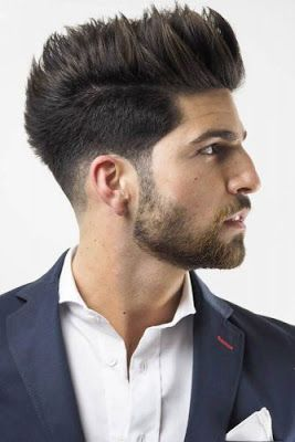 mens hairstyles: 12 TRENDY SPIKY HAIRSTYLES FOR MENS in 2019 ...