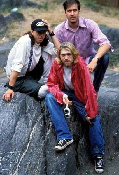 Nirvana in Central Park, New York, 1993