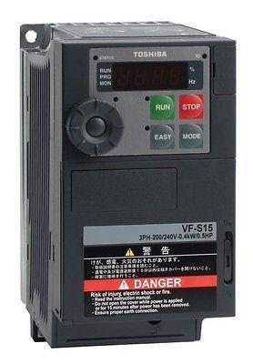 Inverter Toshiba Per Motore Vfs15s2015pl W1 230v Hp 2 Kw 1 5 3 Anni Garanzia Motori Motore Elettrico Ventilatori